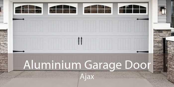 Aluminium Garage Door Ajax