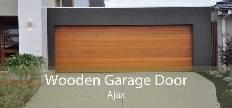 Wooden Garage Door Ajax